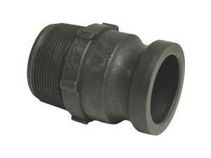 "2"" POLY PART F COUPLING 49014000"
