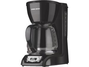 Black & Decker DLX1050B 12-Cup Programmable Coffeemaker, Black
