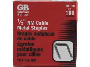 "100PK 1/2"" METAL STAPLE MS-150"
