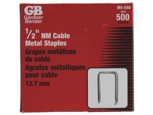 "500PK 1/2"" METAL STAPLE MS-550"