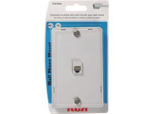 WHT WALL PHONE JACK TP251WHR