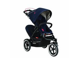 Phil & Teds Navigator Buggy with Second Seat  - Midnight Blue