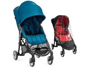 Baby Jogger City Mini ZIP Stroller With Weather Shield - Teal