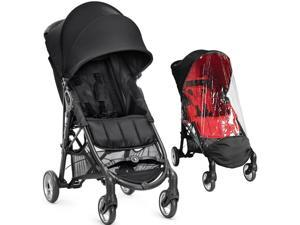 Baby Jogger City Mini ZIP Stroller With Weather Shield - Black