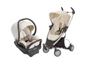 Quinny Zapp Xtra Stroller With Mico Max 30 Infant Car Seat - Natural Mavis/Moon Birch