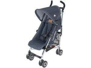 Maclaren Quest Sport Stroller - Denim Indigo From New Born with Full Recline