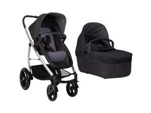 Phil & Teds Smart Lux Stroller With CarryCot - Taupe