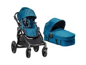 Baby Jogger City Select Stroller With Bassinet Kit - Teal