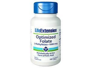 OPTIMIZED FOLATE (L-MEHTYLFOLATE) 1000 MCG 100 TABLETS