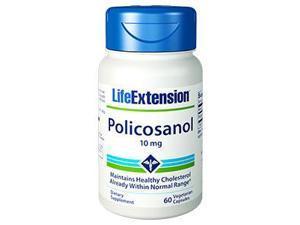 Policosanol, 10 mg, 60 vegetarian capsules
