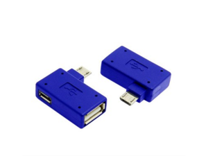 U2-271 NOTE3 N7100 Micro USB OTG adapter can simultaneously bend the right to charge the phone