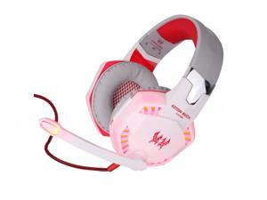 New G2000 Gaming Headphone Headset Stereo KOTION EACH Over-ear with Mic for PC Red
