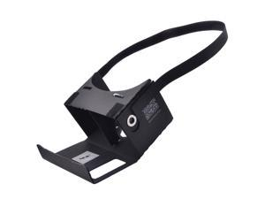 "NEJE DIY Google Cardboard Virtual Reality 3D Glasses with Headband + NFC for 3.5~6"" Phone - Black"