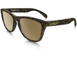 Oakley OO2043-06 Frogskins LX Sunglasses, Dark Tortoise Brown Frame, Dark Bronze 56mm Lenses