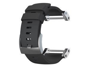 Suunto SS020341000 Core Black Flat Silicone Strap