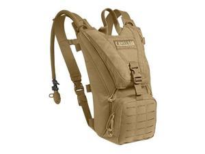 CamelBak Ambush Hydration Pack, Coyote Brown (62581), with 100oz / 3.0L Mil-Spec Antidote Reservoir