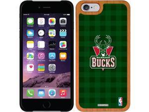 Coveroo iPhone 6 Madera Wood Thinshield Case with Milwaukee Bucks Plaid Print Design