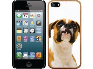 Coveroo Apple iPhone SE/5/5s Wood Thinshield Case with Getty Images Boxer Focus, Full-Color Design
