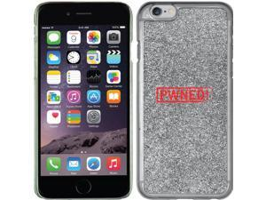 Coveroo Apple iPhone 6/6s Silver Glitter-Bling Thinshield Case with PWNED!, Color Design