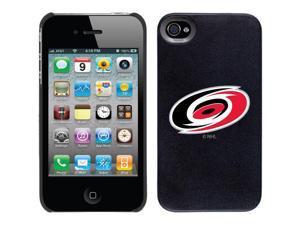Coveroo Apple iPhone 4/4S Black Thinshield Case with Carolina Hurricanes Emblem, Color Design