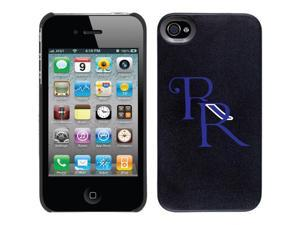 Coveroo Apple iPhone 4/4S Black Thinshield Case with Richland High School, Color Design