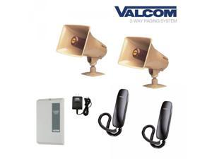 Simple 2-Way Talkback Paging System for Warehouse Autoshop Restaurant etc.