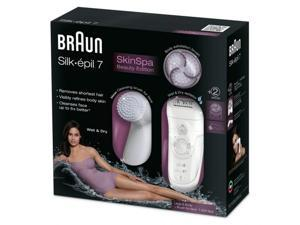 Braun skin spa epilator silkepil 7 beauty edition