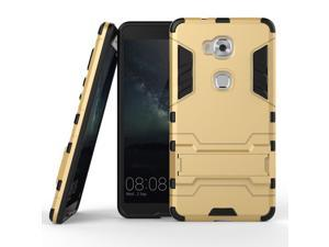 Olen Huawei Honor 5X Case TPU and PC 2 in 1 Kickstand Protective Cover Finish Case for Huawei Honor 5X case Gold