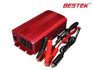 BESTEK Dual 110V AC Outlets 1000w Max Car DC 12V to 110V AC Power Inverter