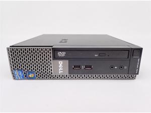 Refurbished: Dell Optiplex 7010 USFF - Intel Core i5-3470S 2.9GHz, 4GB 320GB, Intel HD Graphics - Windows 7 Pro 64bit Installed - ...