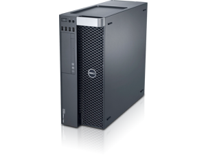 Dell Precision T5600 Workstation - Dual Intel Xeon E5-2603 Quad Core 1.8Ghz CPU - 16GB RAM - 250 GB HDD - DVDRW - AMD FirePro V5900 - Windows 10 Pro Installed - KB/Mouse Included