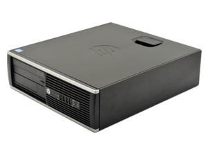 HP COMPAQ 6300 PRO SFF Desktop PC - Intel Quad Core i5 3.2Ghz (3470) - 4GB RAM - 500GB HDD - DVDRW - Gigabit Ethernet - Windows 10 Pro 64-bit installed - KB/Mouse Included