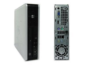 HP Compaq DC7900 Ultra Small Form Factor Desktop - USFF - Core 2 Duo 3.00GHz (E8400) - 4GB RAM - 80GB HDD - DVD - Windows 10 Home 64-bit Installed