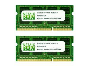 "NEMIX RAM 8GB (2 X 4GB) DDR3 1600MHz PC3-12800 SODIMM Memory for Apple iMac 2012 21.5"" iMac 13,1"