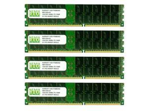 NEMIX RAM 64GB (4 x 16GB) DDR3-1600MHz PC3-12800 240-pin 1.5V 2Rx4 ECC Registered Server Memory Module