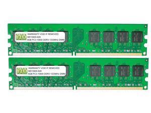 NEMIX RAM 16GB (2 X 8GB) DDR3 1333MHz PC3-10600 240-pin DIMM Desktop PC Memory