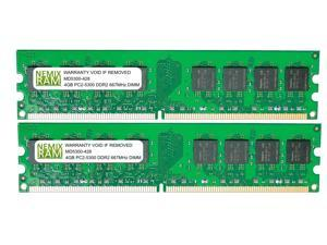 8GB (2 X 4GB) DDR2 667MHz PC2-5300 240-pin Memory RAM DIMM for Desktop PC