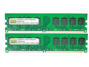 4GB (2 X 2GB) DDR3 1066MHz PC3-8500 240-pin Memory RAM DIMM for Desktop PC