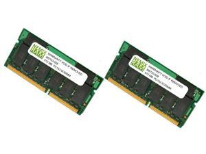 1GB (2X512MB) SDRAM PC133 144-pin SODIMM Laptop Memory RAM