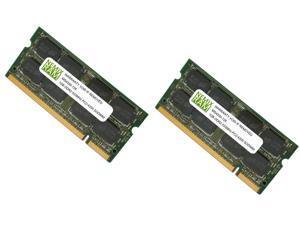 NEMIX RAM 2GB (2X1GB) DDR2 533MHz PC2-4200 200-pin SODIMM Laptop Notebook Memory