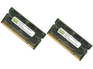 NEMIX RAM 2GB (2X1GB) DDR 266MHz PC2100 200-pin SODIMM Laptop Notebook Memory