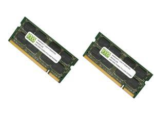 4GB (2X2GB) DDR2 533MHz PC2-4200 200-pin SODIMM Laptop Memory RAM