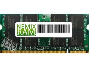 NEMIX RAM 1GB DDR-333MHz PC-2700 200-pin 2.5V 2Rx8 Laptop Memory Module