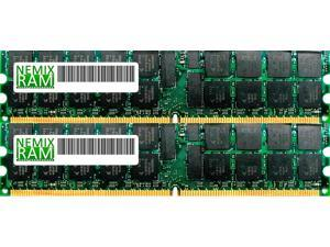 NEMIX RAM 16GB (2 x 8GB) DDR2 667MHz PC2-5300 Memory For Dell Workstation/Server - SNPP134GCK2/16G, A6994478