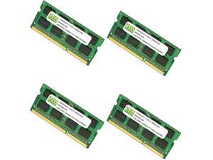 16GB (4 X 4GB) DDR3 1066MHz PC3-8500 SODIMM Memory for Apple iMac 2009 9,1 10,1 11,1 (intel Core 2 Duo)