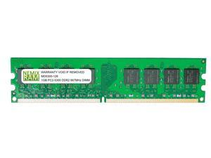1GB DDR2-667 PC2-5300 240-pin 2Rx8 Non-ECC Unbuffered Desktop Memory RAM