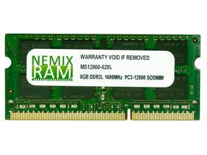 8GB DDR3-1600MHz PC3-12800 204-pin 1.35v 2Rx8 Laptop Memory RAM Module