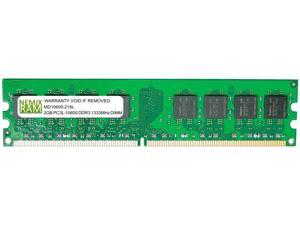 2GB DDR3-1333MHz PC3L-10600 240-pin 1.35v 1Rx8 Non-ECC Unbuffered Desktop Memory RAM