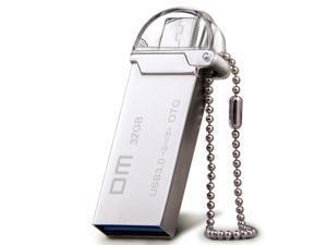 DM PD009 OTG USB 3.0 100% 32GB USB Flash Drives OTG Smartphone Pen Drive Micro USB Metal waterproof USB Stick