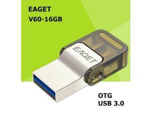 EAGET V60 USB 3.0 100% 16GB Smart Phone Tablet PC USB Flash Drives OTG external storage Micro USB3.0 16G pen drive memory stick